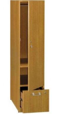 Bush QT288FMC Quantum Modern Cherry Tall Storage Tower ...