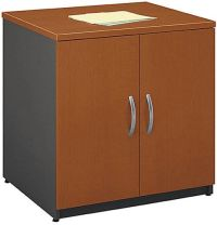 "Bush WC48596A Two Doors Deep Storage Cabinet 30"", Auburn ..."