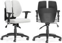 Zuo Modern 205337 Aqua Office Chair, White PU; Has a ...