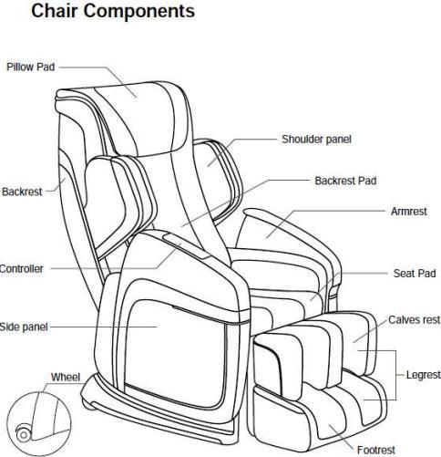 Fujiiryoki FJ-4600B Dr.Fuji Cyber-Relax Deluxe Chair