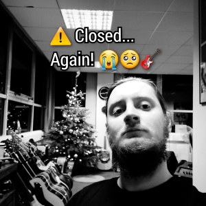 ⚠️ Tier 4…we're now closed again!