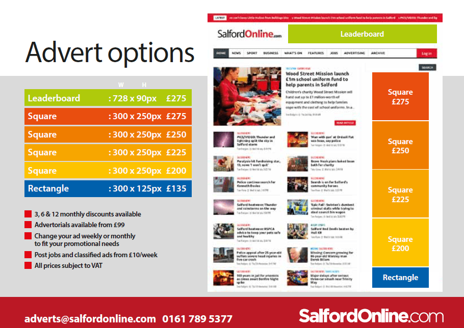 SOL Media Pack Mar 2016 - Page 4 - Advert Options