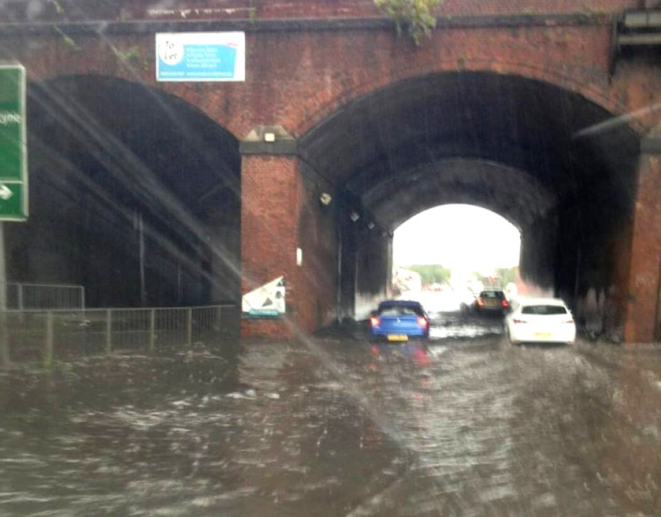 flooding mancunian way andy pratt