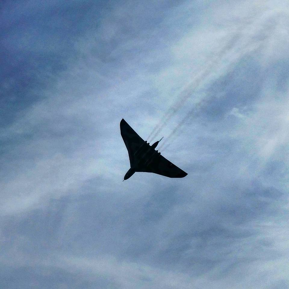 Vulcan bomber Anthony Mills
