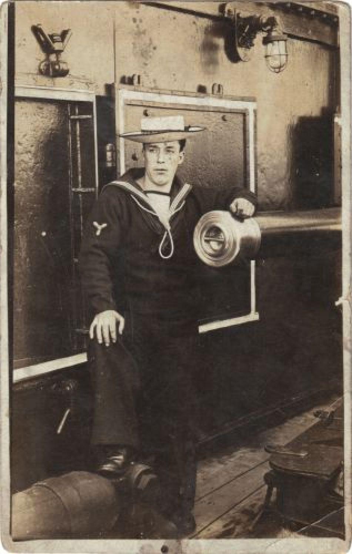 sailor on HMS Centurion