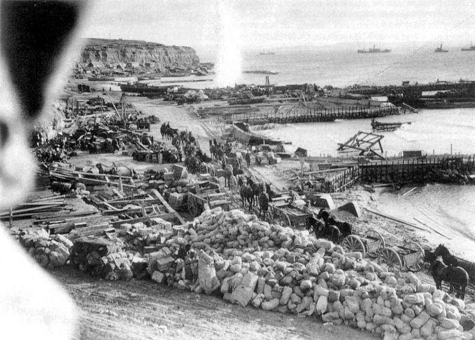 Gallipoli W Beach Cape Helles