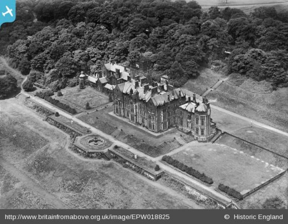Worsley New Hall - BritainFromAbove.co.uk