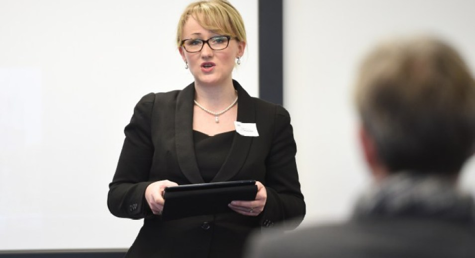 Rebecca Long-Bailey, MP for Salford and Eccles since May 2015