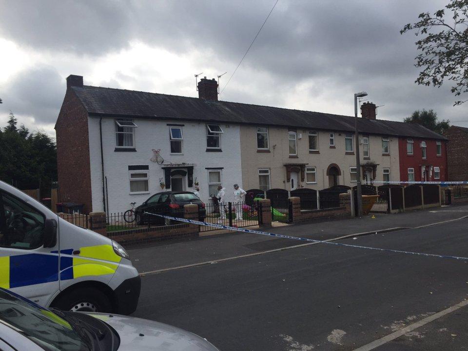 CSI murder scene Winton Cambrai Crescent