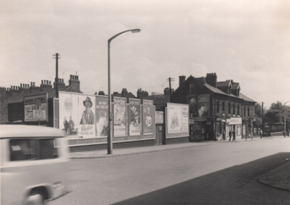 Trafford Road was a bustling thoroughfare back in the 1960s - Salford Local History Library