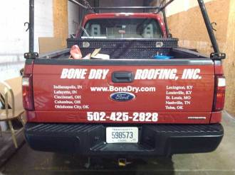 Vehicle decals and lettering in Troy MI