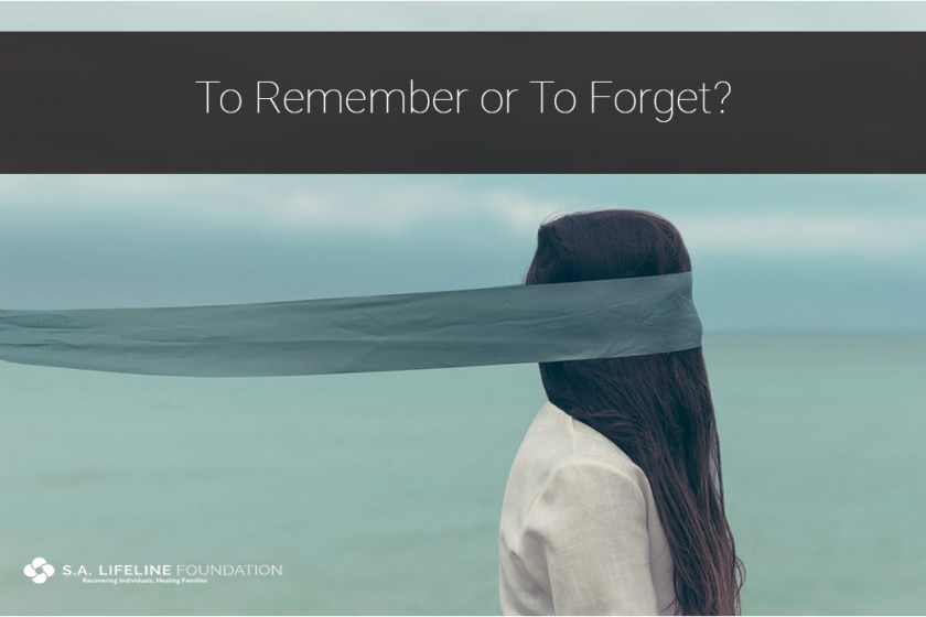 to remember or to forget