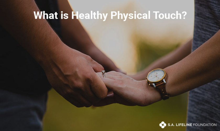healthy physical touching