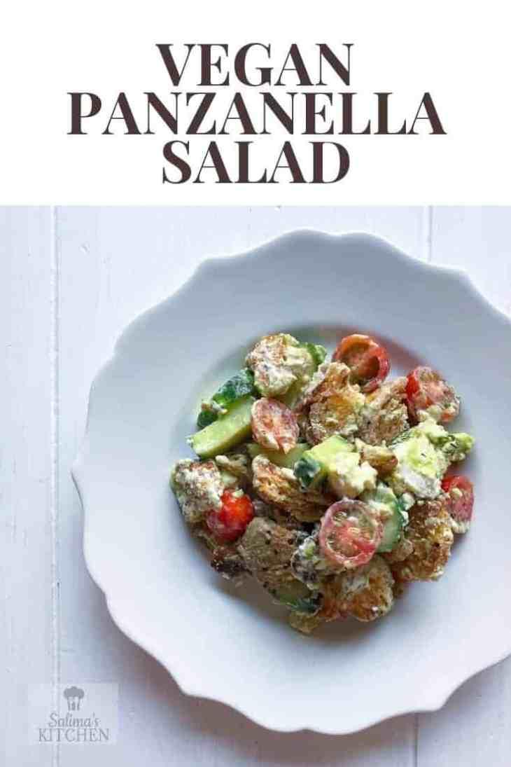 Vegan Panzanella Salad