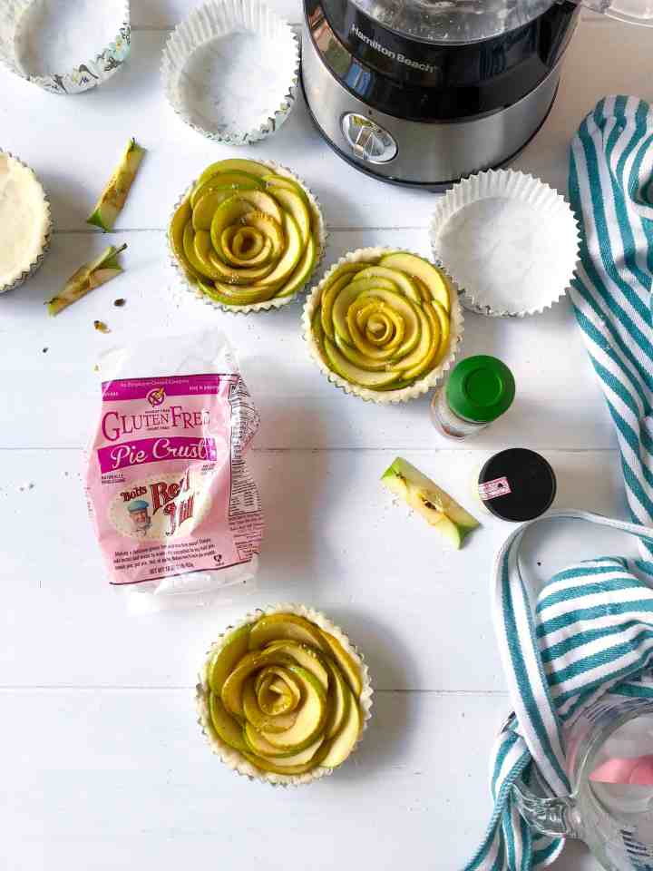 Gluten Free Fall Dessert: Rose Apple Tarts