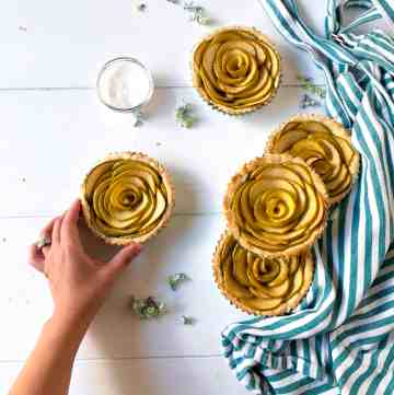 Rose Apple Tarts: Perfect Fall Dessert
