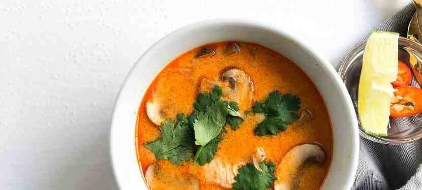 Thai Coconut Soup – Made Gluten Free & Soy Free in Under 30 Minutes