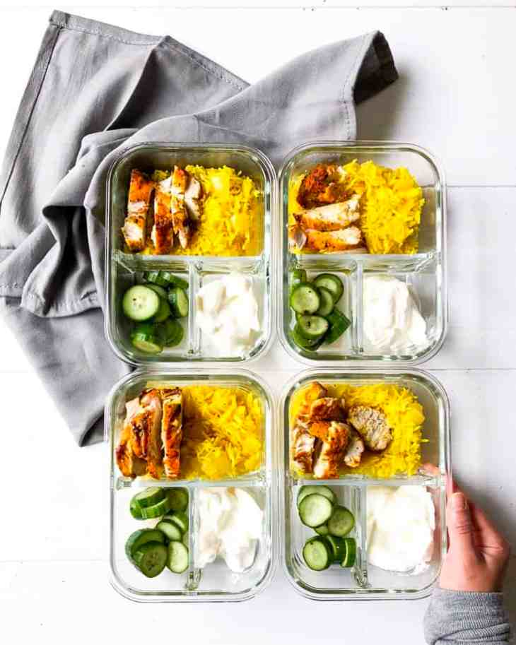 These Golden Greek Bowls are a simple combination of two of my favorite recipes, with a few added fresh ingredients like cucumbers and greek yogurt.