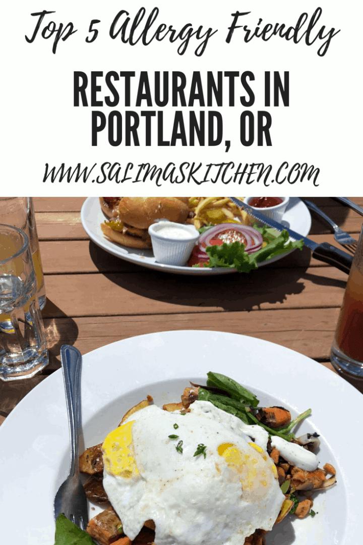 Top 5 Allergy Friendly Restaurants in Portland