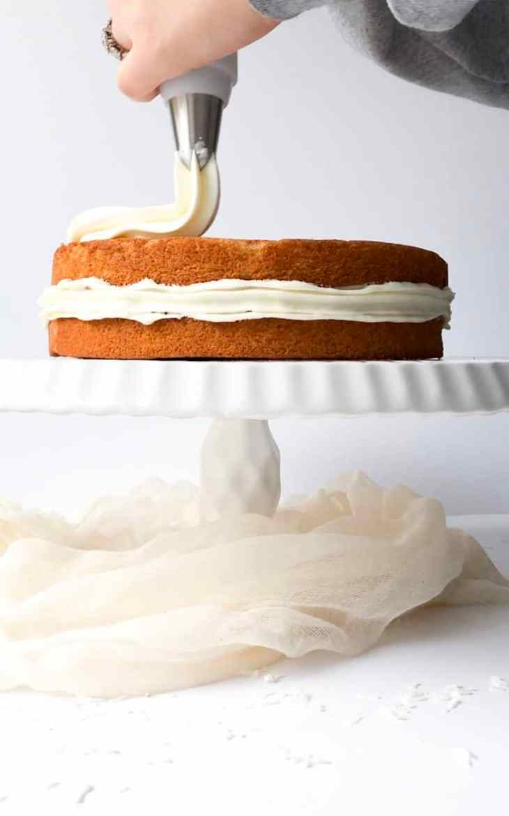 Gluten Free Coconut Vanilla Cake