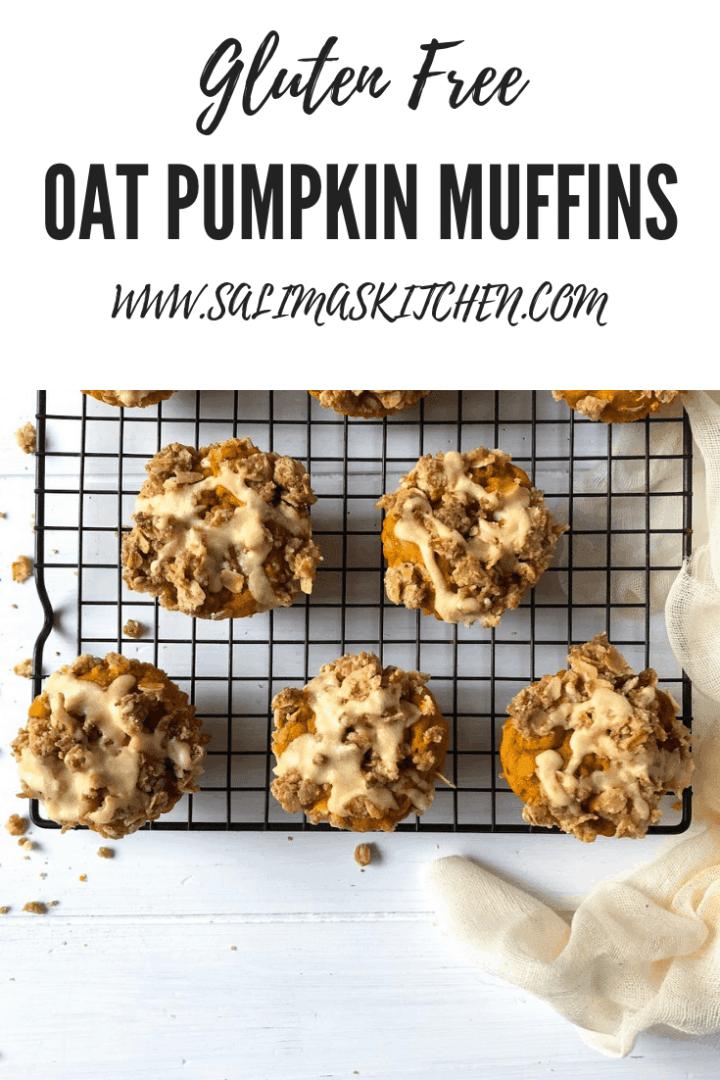 Gluten Free Pumpkin Oat Muffins