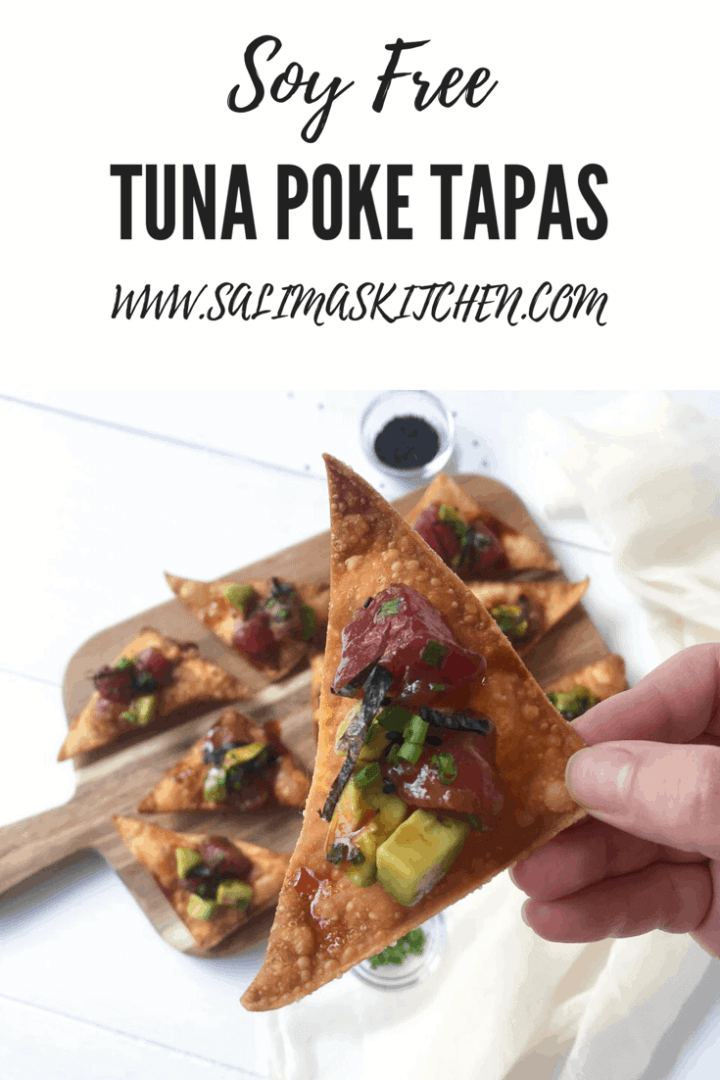 Tuna Poke Tapas