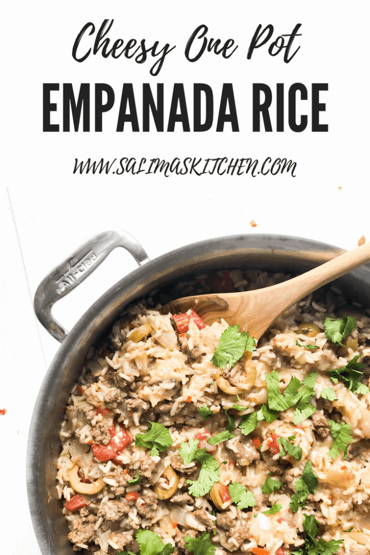 One Pot Empanada Rice