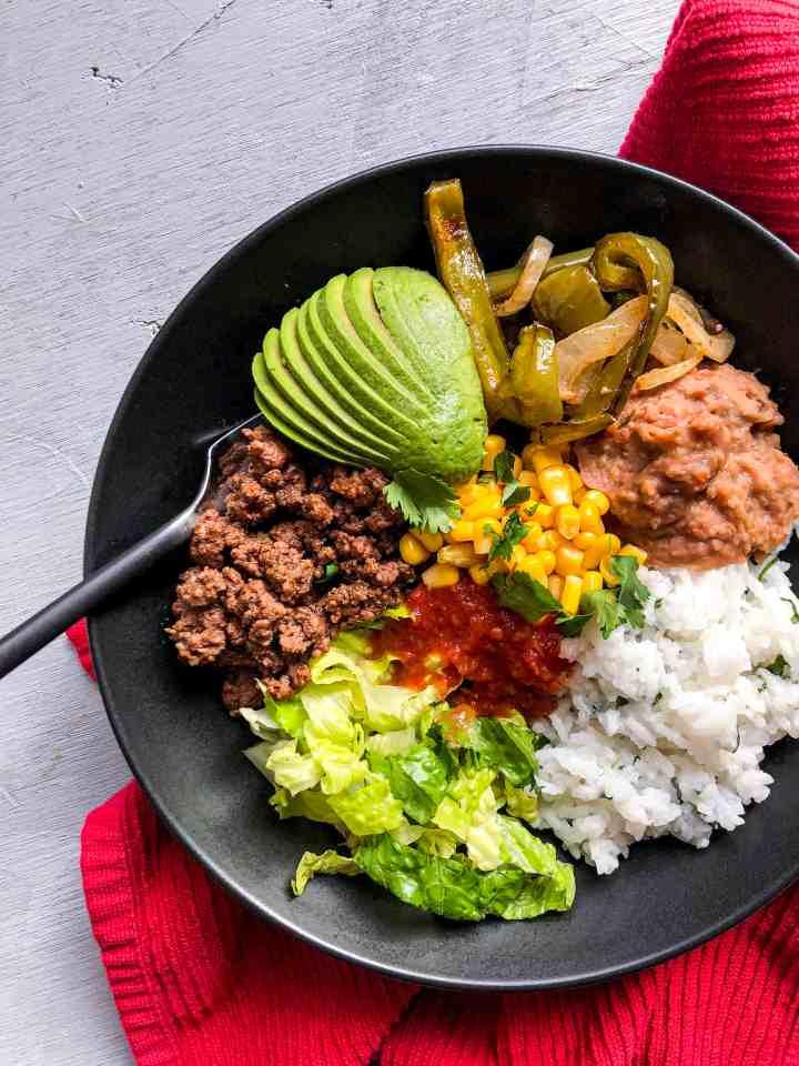 Gluten Free Burrito Bowls