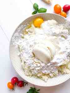 Gluten free gnocchi dough mix.