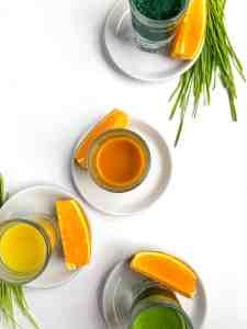 Wellness shots at Stellar Juices.