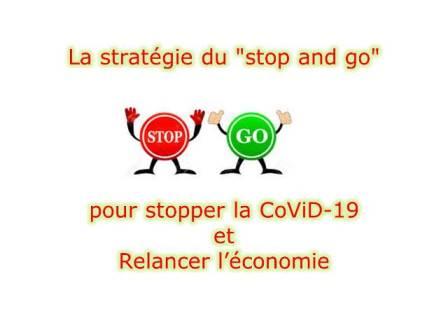 La stratégie du «stop and go» pour stopper la CoViD-19 et Relancer l'économie