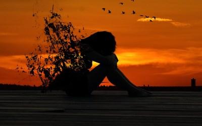 Alone….