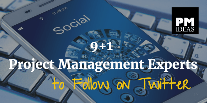 Project Management Experts to Follow on Twitter