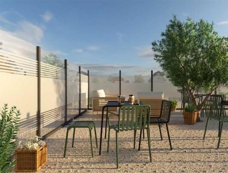 glass windbreak panels for outdoor