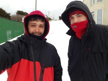 Qué frío!