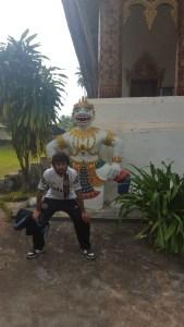 En un templo