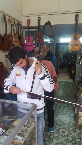 Probando instrumentos