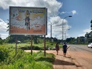 Tour de Guyane en todos lados