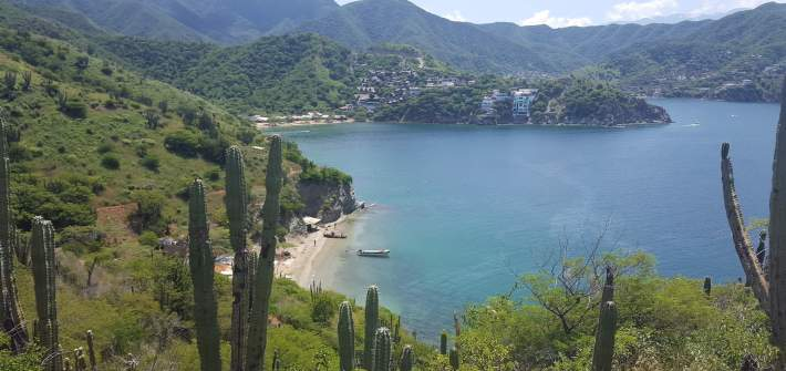 Playas de Santa Marta y Taganga