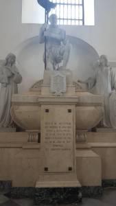 Restos del fundador de Santa Marta