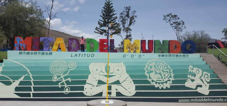 Quito, en la mitad del mundo