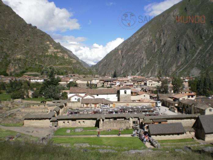 La ciudad de Ollantaytambo