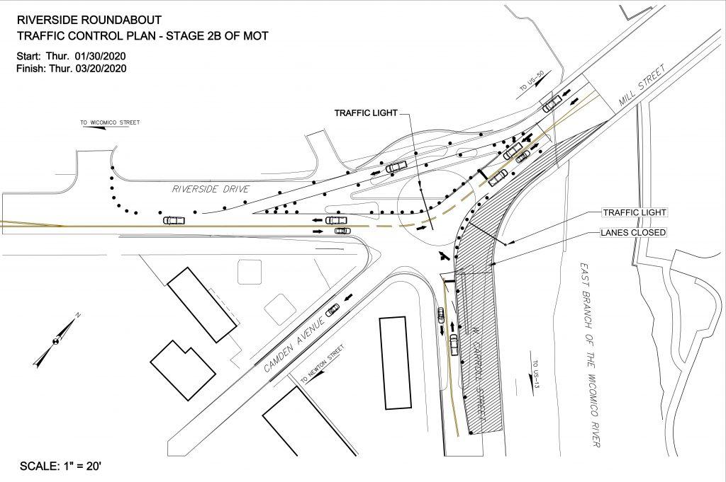 Traffic Pattern Modifications at Mill St. Roundabout