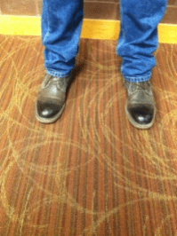 Brown shoes: Ideal to pull together blue jeans and a button down shirt for an effortless dressy casual look. Sam Stevens, Freshman