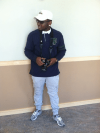 """Sweatpants: This new trend in menswear is ideal to show off a good pair of kicks. """"I buy my sweatpants from H&M and the Adidas store"""". Malik Jordan, Sophomore"""