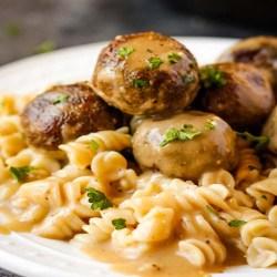 Vegan Swedish Meatballs Recipie