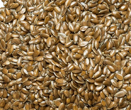 Flax seeds have a high content of Omega-3 fats