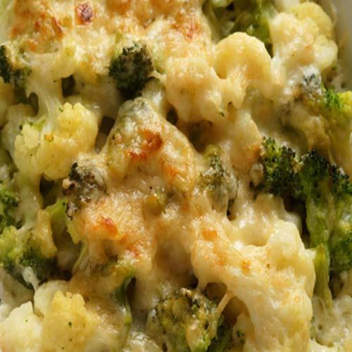 vegan cauliflower and brocolli cheese
