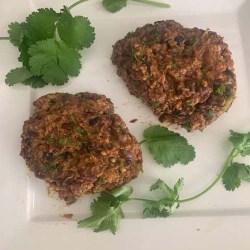Vegan black bean burgers recipe