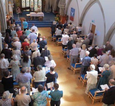 Salisbury URC sanctuary